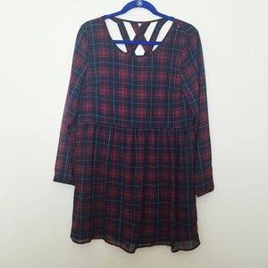 Divided by H & M Plaid Dress - 10